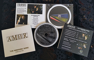 AMOR - The Wedding Song (Today is the Day) CD